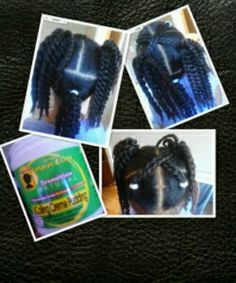 Coil cream, some twists & a blow dryer! Going to try this on my Biracial Daughter's hair. Mixed Kids Hairstyles, Cute Little Girl Hairstyles, Funky Hairstyles, Mixed Hair Care, Black Hair Care, Anna Hair, Cute Little Girls, Girly Girls, Girl Hair Dos