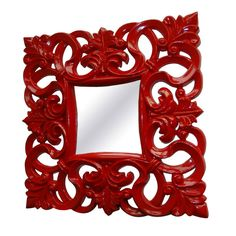 Sonia Mirror in Red