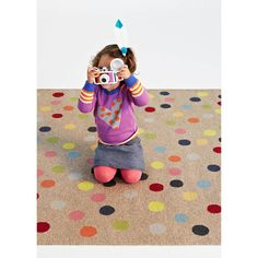 FLOOR RUG | confetti by armadillo + co | Cranmore Home