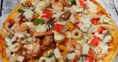 Monic's Simply Kitchen berisi resep makanan dan minuman praktis Tuna Pizza, Yams, Pasta Salad, Chicken, Meat, Ethnic Recipes, Kitchen, Food, Crab Pasta Salad