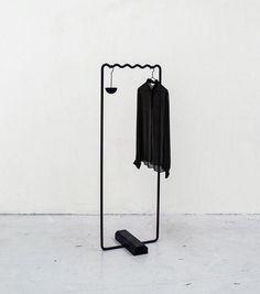 The best of small clothing rack on wardrobe racks stunning garment within clothes design 13 Rack Design, Store Design, Clothes Stand, Diy Clothes, Home Modern, Modern Decor, Retail Fixtures, Hanger Rack, Hanger Stand