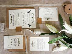 bespoke alicia postcard wedding invitation by rebecca mcmillan illustration | notonthehighstreet.com
