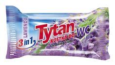 Dwufazowa kostka do WC Tytan lawendowy zapas / Tytan Double-phase Toilet Bowl Cleaning Cube refill