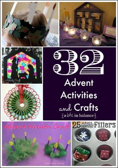 32 Advent Activities and Crafts