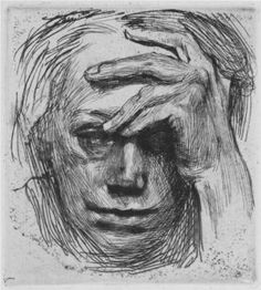 Kathe Kollwitz, a great German Expressionist artist that captured intense emotions in her black and white artworks through drawings, engravings, etchings and prints.