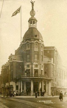 Wimbledon theatre Vintage London, Old London, Local History, British History, Old Pictures, Old Photos, Kingston Upon Thames, South London