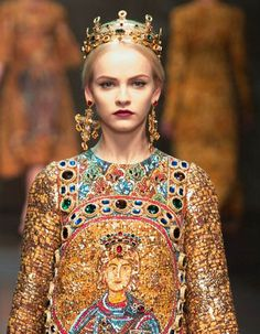 ♥ Romance of the Maiden ♥ couture gowns worthy of a fairytale - Dolce & Gabbana