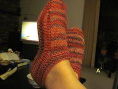 Free Pattern: Non-felted Slippers by Yuko Nakamura