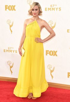 See Taylor Schilling and all the other best dressed celebrities at the Emmys on wmag.com.