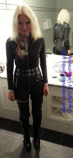 Quails, Catsuit, Mistress, Kinky, Worship, Leather Pants, Satin, Wall, Clothing