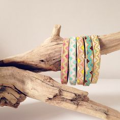 Bracelets miyuki rosemoustache.com