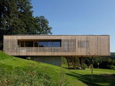 A Passive House is built on stilts, and it makes sense.