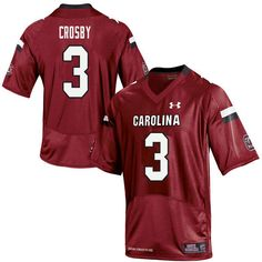 348b802707d Men #3 K.C. Crosby South Carolina Gamecocks College Football Jerseys Sale-Red  Melvin Ingram
