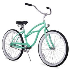 Ride in style thanks to this women's beach cruiser bike--we're obsessed with the fresh mint color. | $199.99