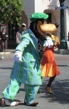 Great threads, Goofy!  Disney California Adventure / Disneyland
