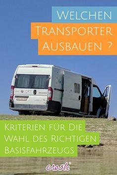 Ratgeber: Welchen Transporter zum kleinen Wohnmobil ausbauen?