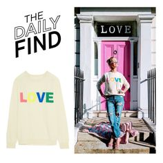 """""""Daily Find: Chinti and Parker Love Sweater"""" by polyvore-editorial ❤ liked on Polyvore featuring Chinti and Parker and DailyFind"""