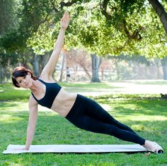 Get a great resistance workout, no machine necessary. Here, 5 at-home pilates exercises borrowed from the reformer. | Health.com