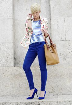 Colored Jeans for Spring 2014