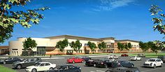 renderings showing the new Sherman Elementary School planned for the school's current location at 1909 McKee St. in Northside Village. Construction of the 86,000-sq.-ft. structure is on target to begin within 2 months, after the existing school is demolished. The new school will serve students from Crawford Elementary, which will then be closed.
