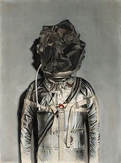 Experimental and Surreal Paintings by Chris Scarborough