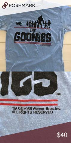 f7fb7ee7 VINTAGE The Goonies t-shirt VINTAGE The Goonies t-shirt from 1985 Shirts  Tees