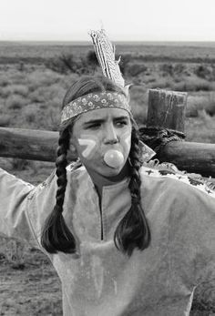 "Melissa Gilbert blowing bubbles on the set. (Season 6, episode 7 ""The Halloween Dream"")"