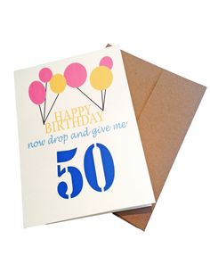 Happy Birthday  Military Greeting Card by Shopmailcall on Etsy, $5.00