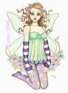 Darling Tilly by Caron Vinson 2005 Cartoon Character Pictures, Cartoon Characters, Western Girl, Zelda Twilight Princess, Girl Clipart, Unicorns And Mermaids, Butterfly Fairy, Fairy Coloring, Decorating With Pictures