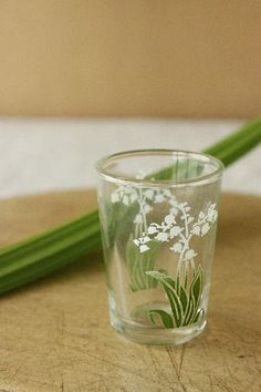 Lily of the Valley Glass