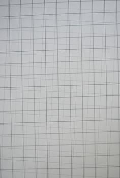 nadinestewartdrawing:  A3 Overlap (gray black big squares), 2013420 x 297mm