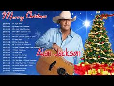 Country Christmas Songs Of Alan Jackson - Alan Jackson Greatest Hits - YouTube Country Christmas Music, Country Music, Honky Tonk, Silent Night, Greatest Hits, Jingle Bells, Good Music, Winter Wonderland, Merry Christmas