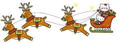 Christmas Newsletter, Hello Kitty Christmas, Baby Friends, Holiday Wallpaper, Christmas Graphics, Hello Kitty Wallpaper, Clips, Christmas And New Year, Xmas