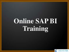 Vteaminc  is a Global Interactive Learning company started by proven industry experts with an aim to provide Quality Training in the latest SAP Technologies. we offering Training services to SAP BI/BW giants and to individual students worldwide.  For more info visit http://www.vteaminc.com/online-courses/sap-business-warehouse-bi-bw-online-training.html