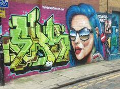 Shoreditch, London.