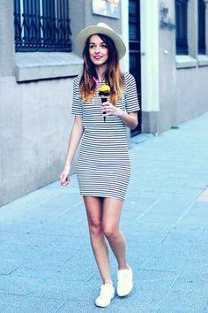 10 Outfits con zapatillas blancas | Mckela #outfits & #moda