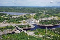 Shipshaw hydropower plant Saguenay Quebec CNW group Rio Tinto Alcan