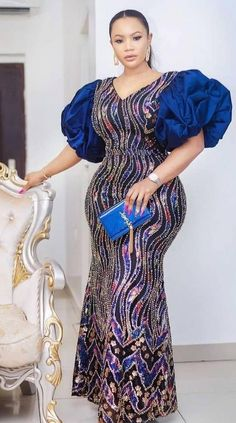 Nigerian Lace Styles Dress, African Party Dresses, African Lace Styles, African Dresses For Kids, Latest African Fashion Dresses, Lace Dress Styles, African Print Dress Designs, African Traditional Dresses, African Attire