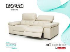 Tumbado, sentado, recostado… se ponga como se ponga, cuando pruebe este sofá no querrá probar ningún otro. Su acolchado es único y, si elige la opción relax eléctrico, disfrutará de lo último en comodidad.