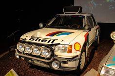 #Peugeot #205 #T16 exposée à la #Cité de l'#Automobile, Collection #Schlumpf, de #Mulhouse. Article original : http://newsdanciennes.com/2015/07/16/on-a-teste-pour-vous-la-collection-schlumpf/ #Cars #Museum #Voiture #Ancienne #Classic