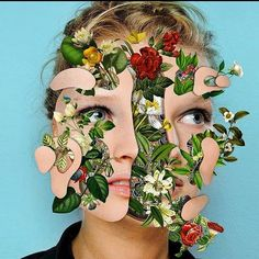 Digital collage artist @marcelomonreal creates gorgeous pieces of art. #artworks #brazil