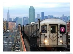 MTA number 7 line. From Manhattan at Times Square, 5th Avenue and Grand Central Station it takes you to Shea Stadium  . . . I mean Citi Field
