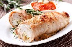 Ricetta Lonza di Maiale alla Birra - Il Club delle Ricette Pollo Chicken, Bacon, Fett, Fresh Rolls, Turkey, Ethnic Recipes, Aide, Dessert, Club