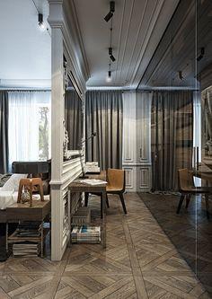 Apartment of a young sophistiate, Kiev, 2015 - YØ DEZEEN