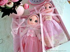 Amigurumi tesettürlü bebekler