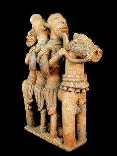 Djenne equestrian figure, Mali, c. 13th-16th century (terracotta)