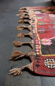 Inspired by: Kilims