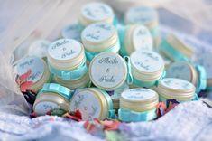 Regalos para bodas bálsamos de labios personalizados