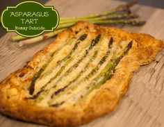 Asparagus Tart - An easy, delicious dish that any asparagus lover will enjoy!