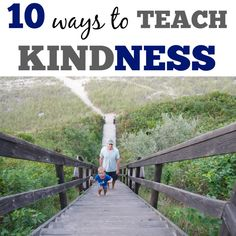 10 Ways to Teach Kindness from @Marnie of Carrots Are Orange - Montessori Living and Learning
